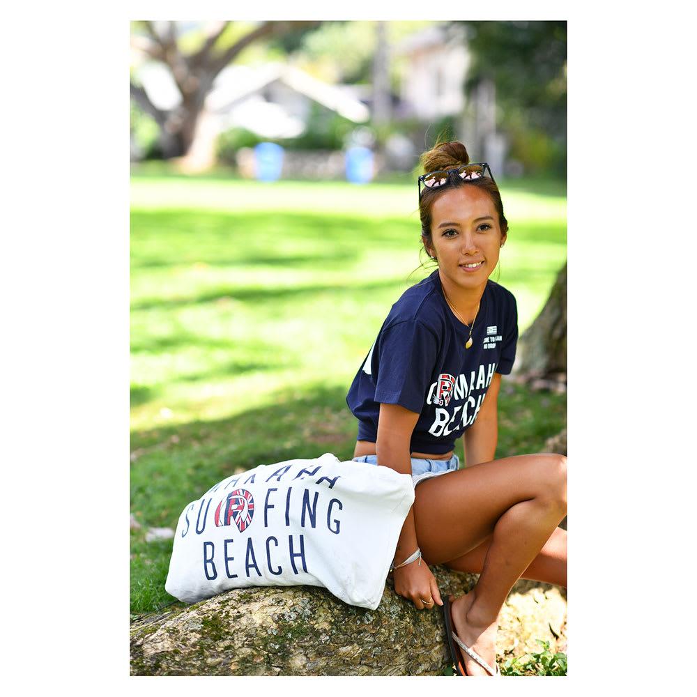 RealBvoice(リアルビーボイス)/HAWAII MAKAHA BEACH BAG|ビーチバッグ (ア)使用イメージ