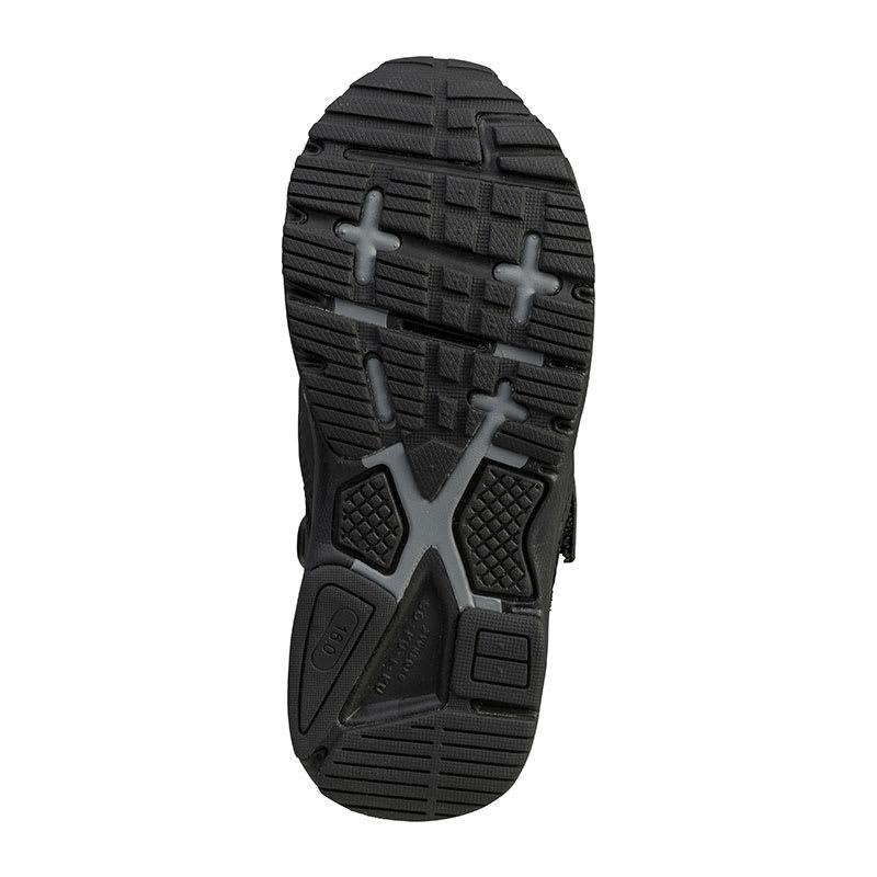 アキレス瞬足/足育スポーツ 224(16-20cm)|子供靴 (イ)ブラック