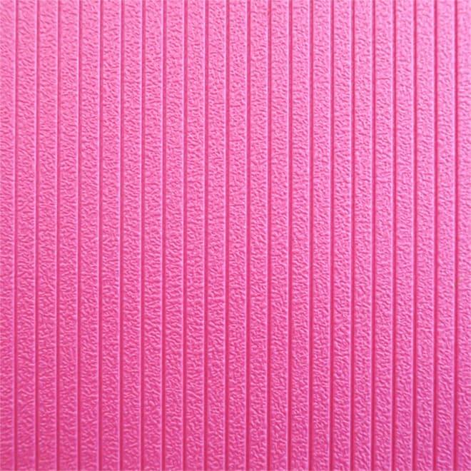 パタッとたためるすのこ ダブル幅85長さ120cm (イ)ピンク…表面