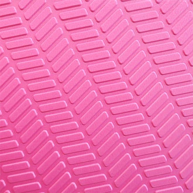 パタッとたためるすのこ ダブル幅85長さ120cm (イ)ピンク…裏面
