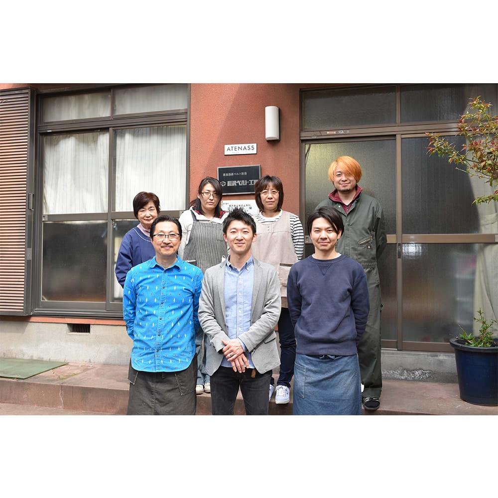 長沢ベルト/リナルディ社 アドバンレザーベルト 集合写真