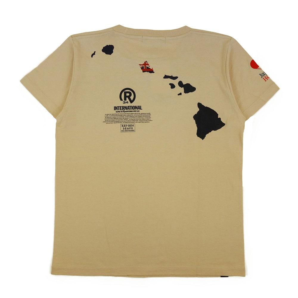 RealBvoice(リアルビーボイス)/ジャパンハートGMB Tシャツ (イ)ベージュ