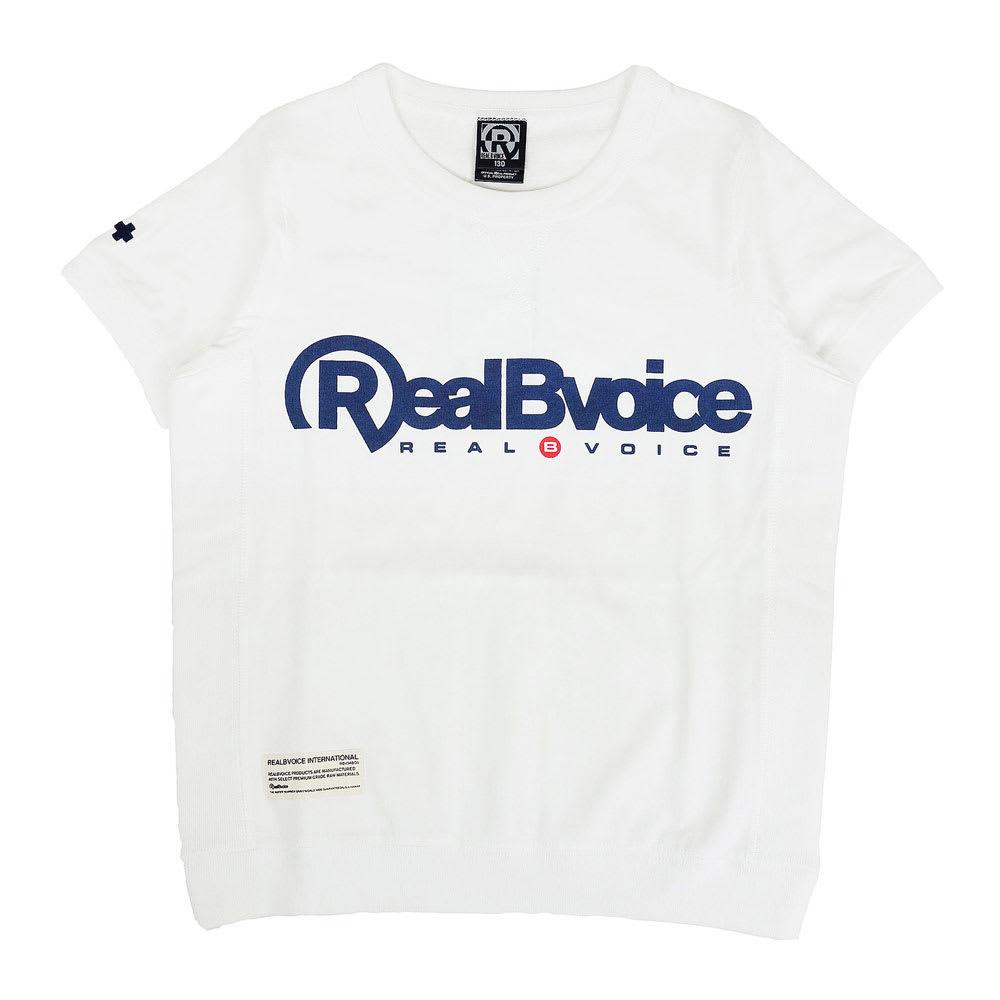 RealBvoice(リアルビーボイス)/キッズ ヘビーウェスト リブ Tシャツ RBV(130-160cm) (イ)オフホワイト