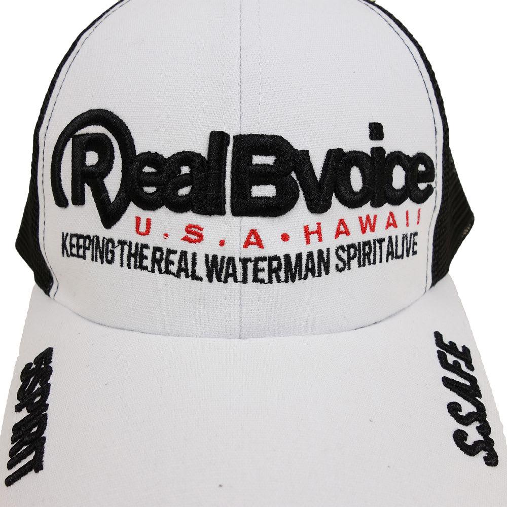 RealBvoice(リアルビーボイス)/キッズ REALBVOICE キャップ