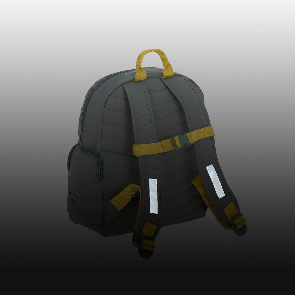 Laessig(レッシグ)/キッズ ミディアムバックパック リフレクター機能付きで暗い夜道でも安心