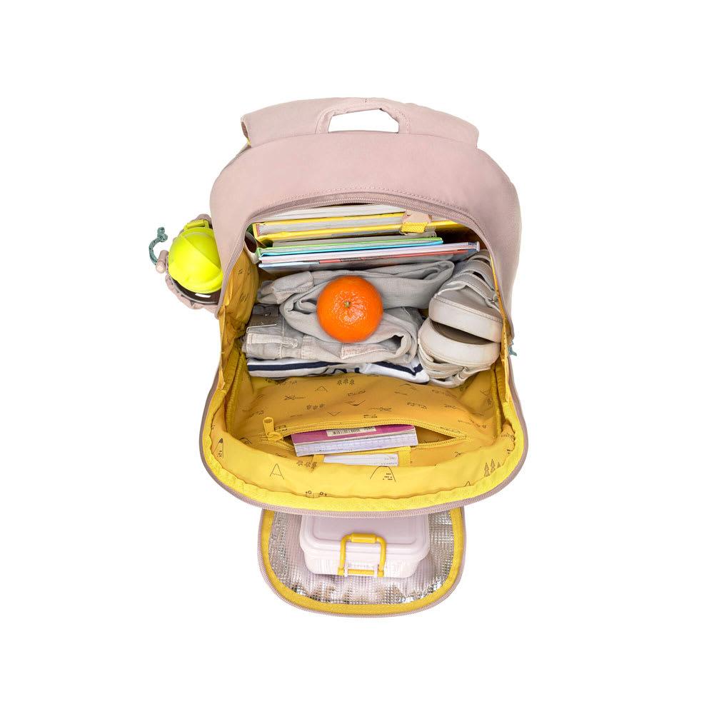 Laessig(レッシグ)/キッズ ビッグバックパック しっかりとした収納力に、正面のポケットには保冷保温機能付き