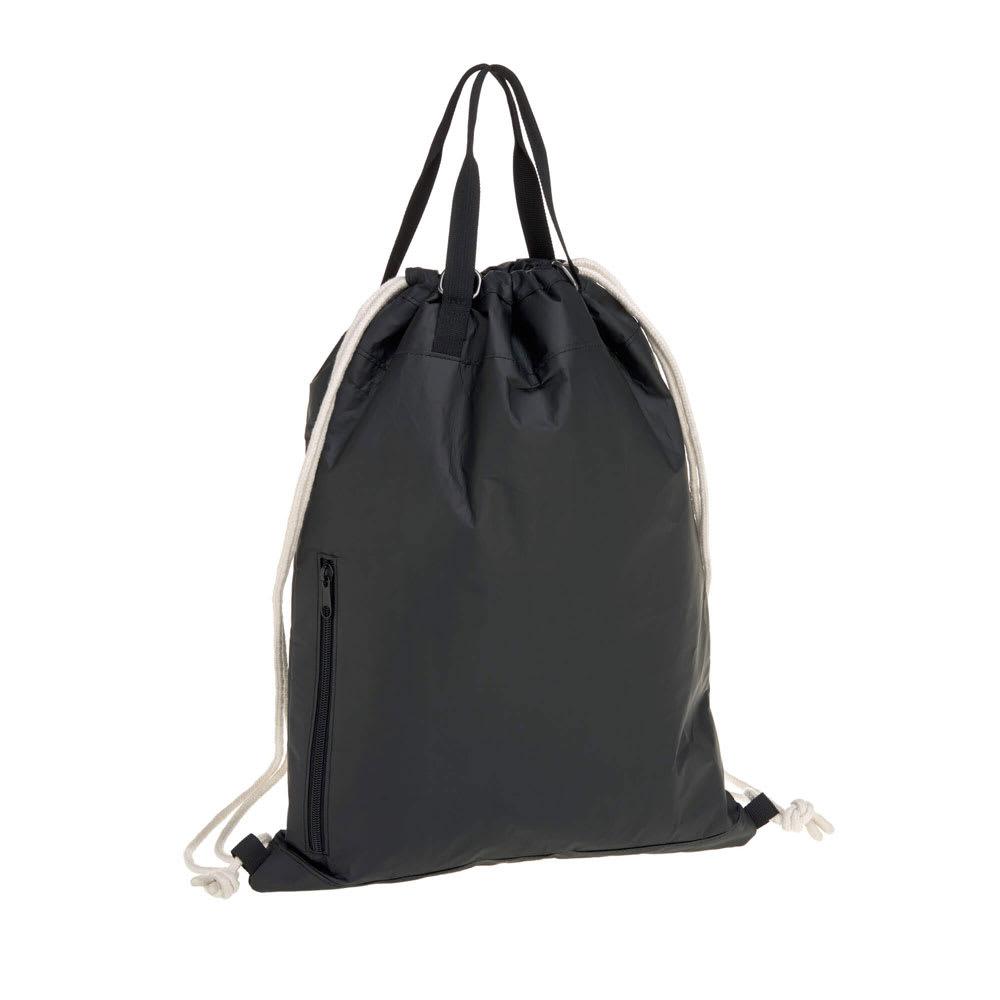 Laessig(レッシグ)/グリーン タイベストリングバッグ (ア)ブラック…Back