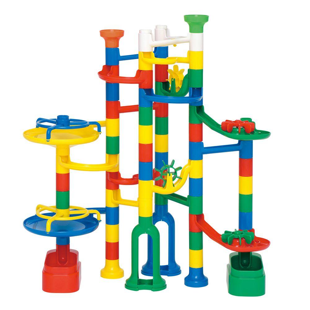 くもん/NEWくみくみスロープ|知育玩具 49ピース使用