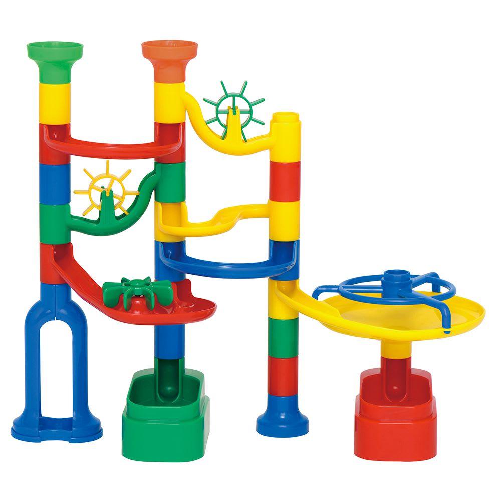 くもん/NEWくみくみスロープ|知育玩具 27ピース使用