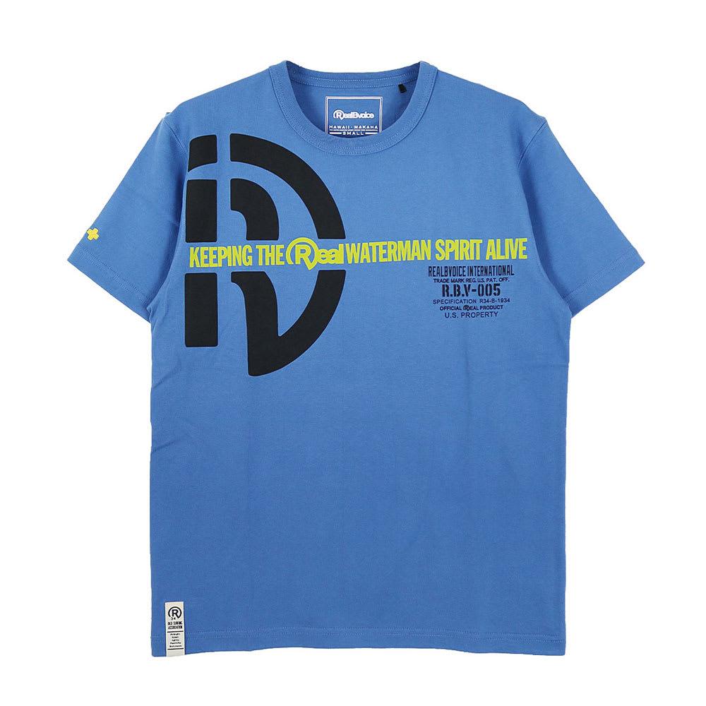 RealBvoice(リアルビーボイス)/ウォーターマン スピリット タイプS Tシャツ (イ)ブルー…front