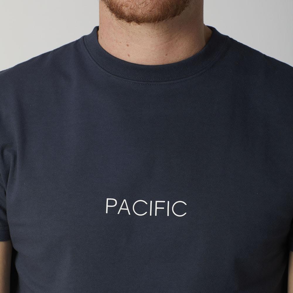 OP(オーシャンパシフィック)/シンプルロゴデザイン メンズTシャツ (イ)ネイビー