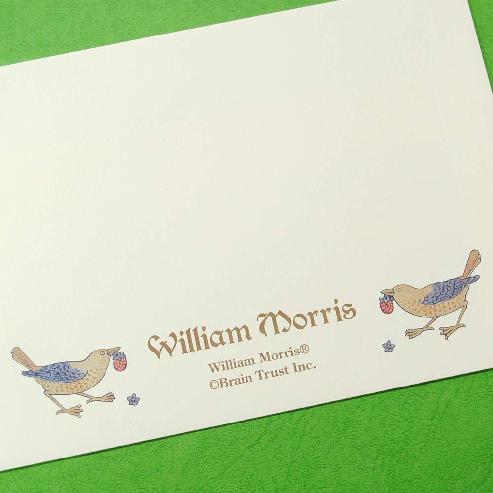 ディアカーズ/美しい絵画のようなレターセット ウィリアム・モリス 封筒16枚