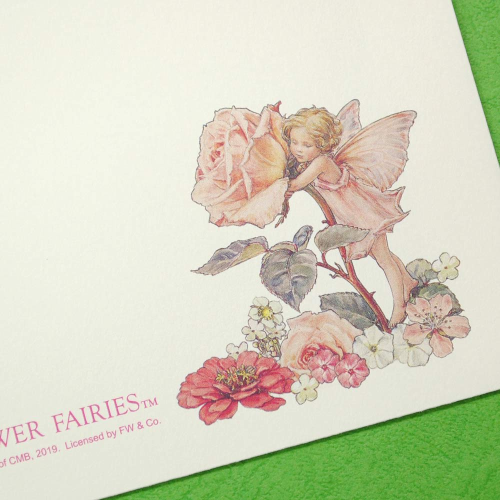 ディアカーズ/美しい絵画のようなレターセット フラワーフェアリーズ 封筒16枚