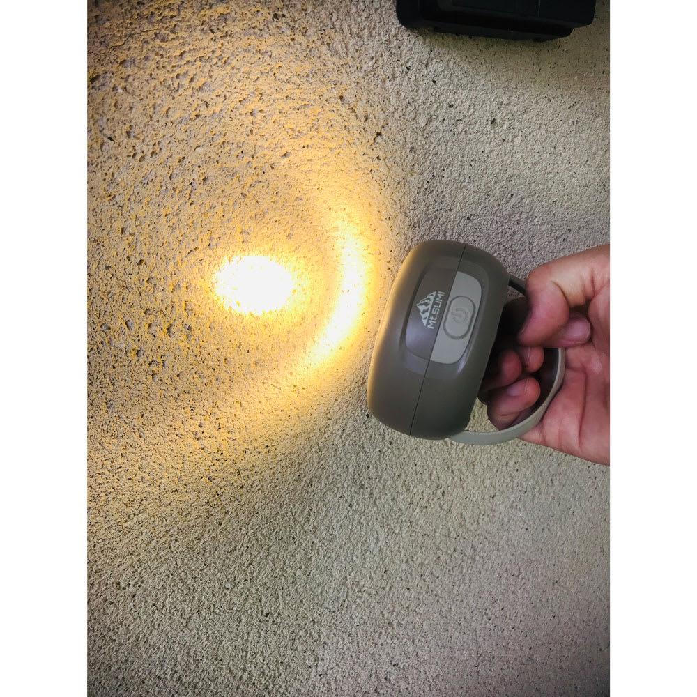 ソーラーバンクランタン 懐中電灯としてもお使いいただけます