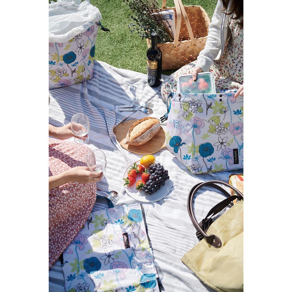 cocoro picnic(ココロ ピクニック)/コクリコ ピクニックバッグL