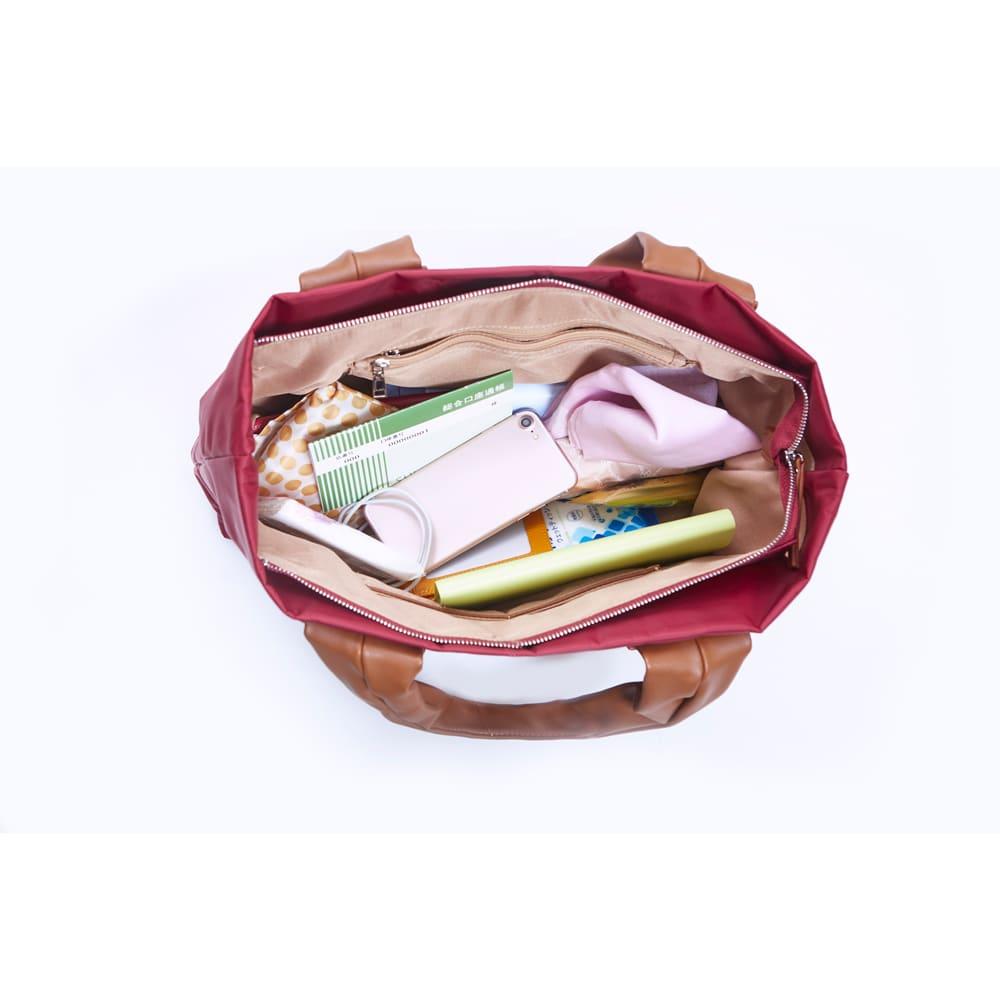 COGIT(コジット)/バッグにもなるスキミング対策バッグイン ごちゃつきがちな鞄の中身も…
