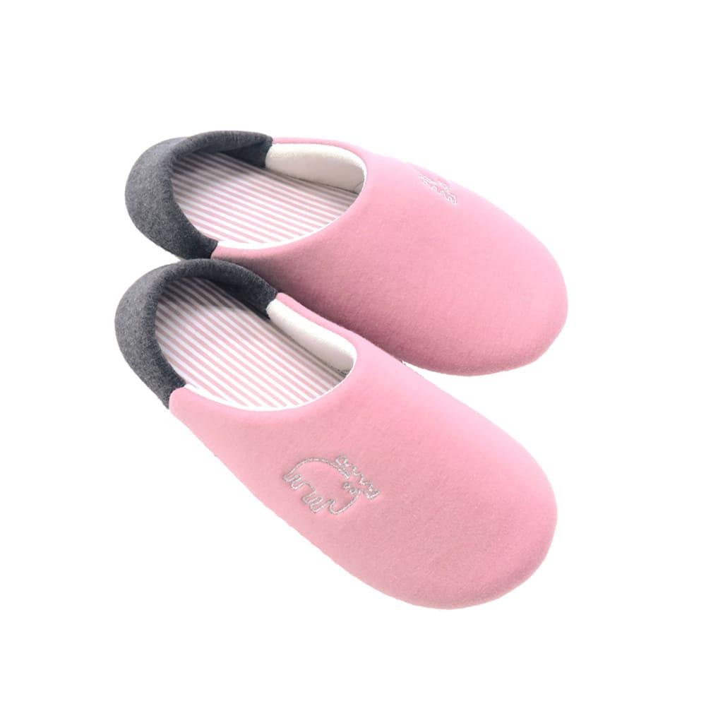 moz(モズ)/収納袋付きスリッパ (ウ)ピンク