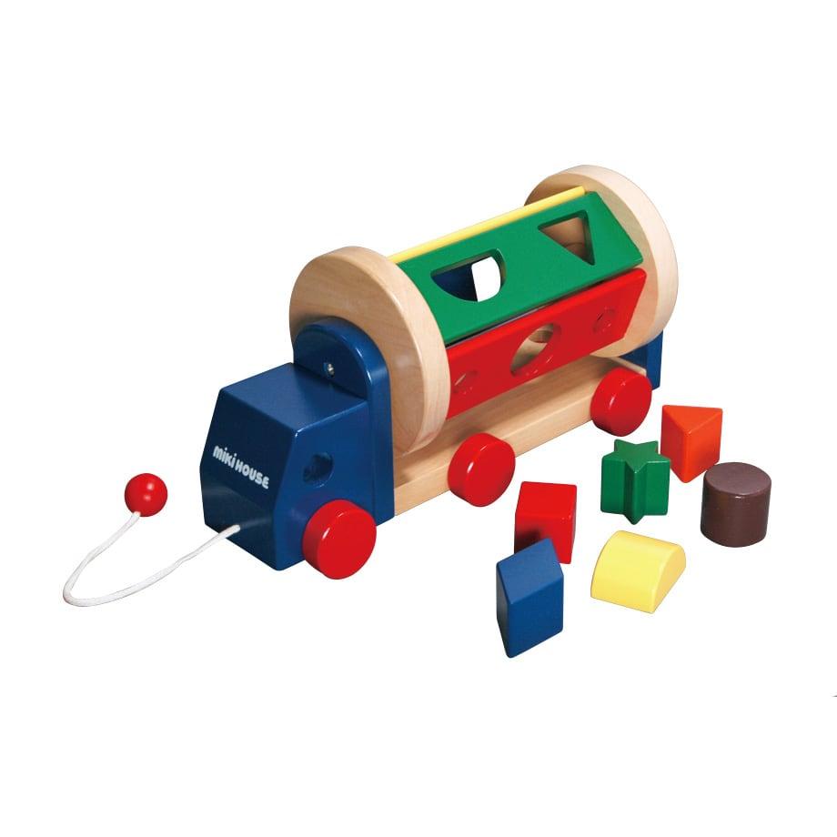 miki HOUSE(ミキハウス)/パズルミキサーカー|おもちゃ