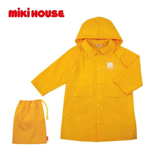 miki HOUSE(ミキハウス)/収納ポーチ付きレインコート(100~130cm)