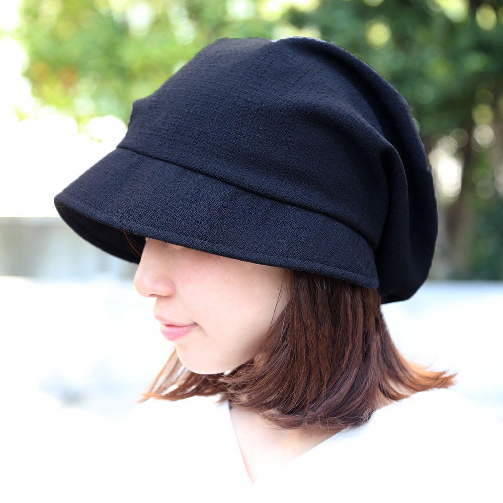 ディノス オンラインショップORIHARA STYLE(オリハラスタイル)/女優帽ブラック