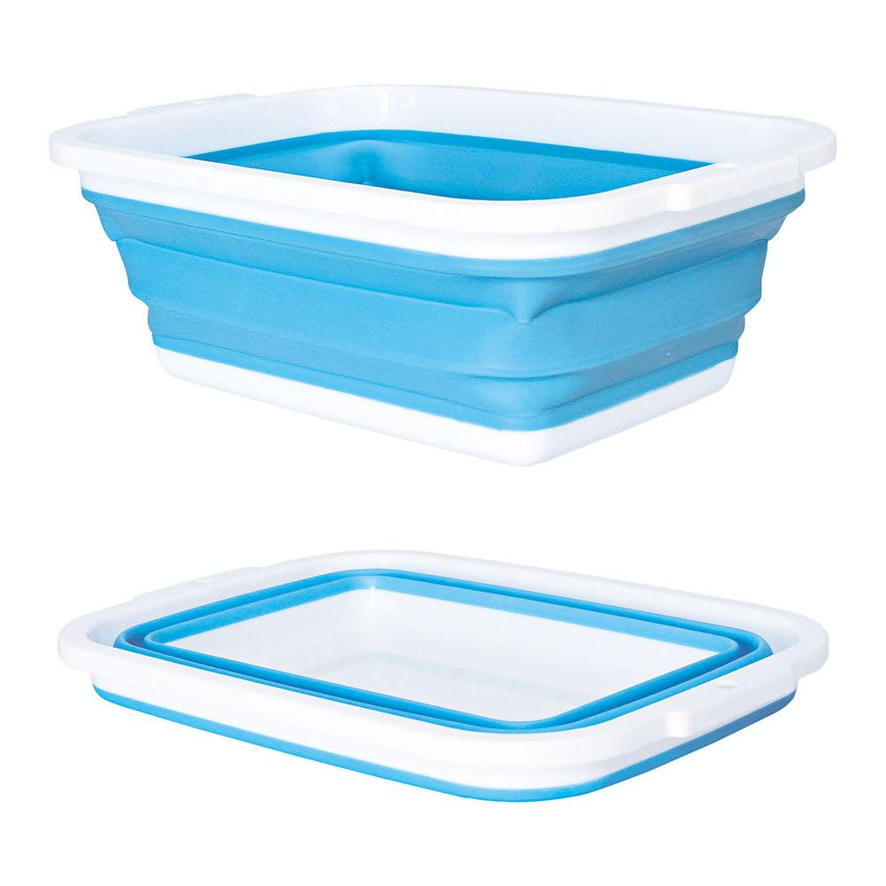 薄く畳める洗い桶 場所をとらない!!薄く畳める洗い桶