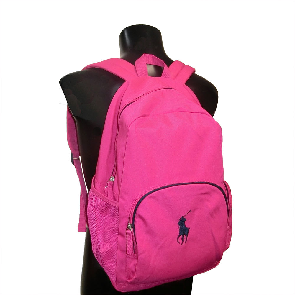 POLO RALPHLAUREN(ポロラルフローレン)/CAMPUS BACKPACK(キャンパス バックパック) リュック 使用イメージ