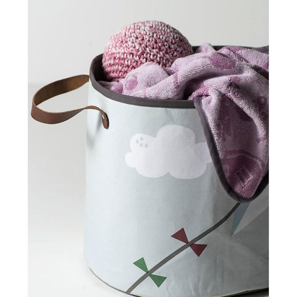 sebra(セバ)/フード付きおくるみタオル ファーム柄 ボーイブルー/ガールピンク ベビー用品