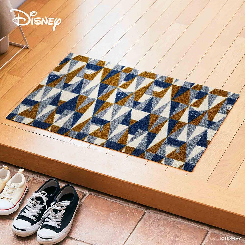 Donald(ドナルド)/玄関マット ジオメトリック 50×75cm|Disney(ディズニー) ディズニーグッズ・ミッキーマウス