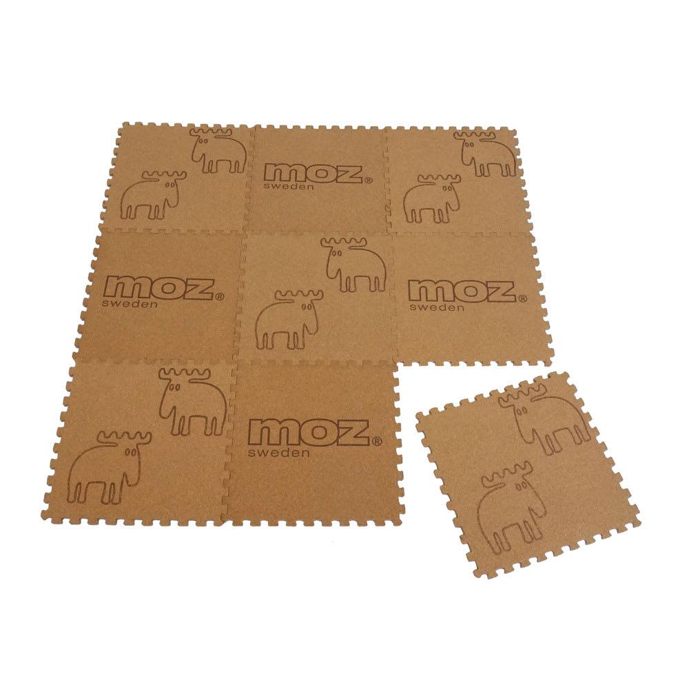 moz(モズ)/室内用コルクマット9枚セット カーペット(畳物・敷き込み)