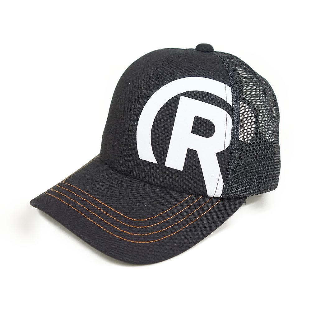 RealBvoice(リアルビーボイス)/キッズ R-MARK キャップ (ア)ブラック