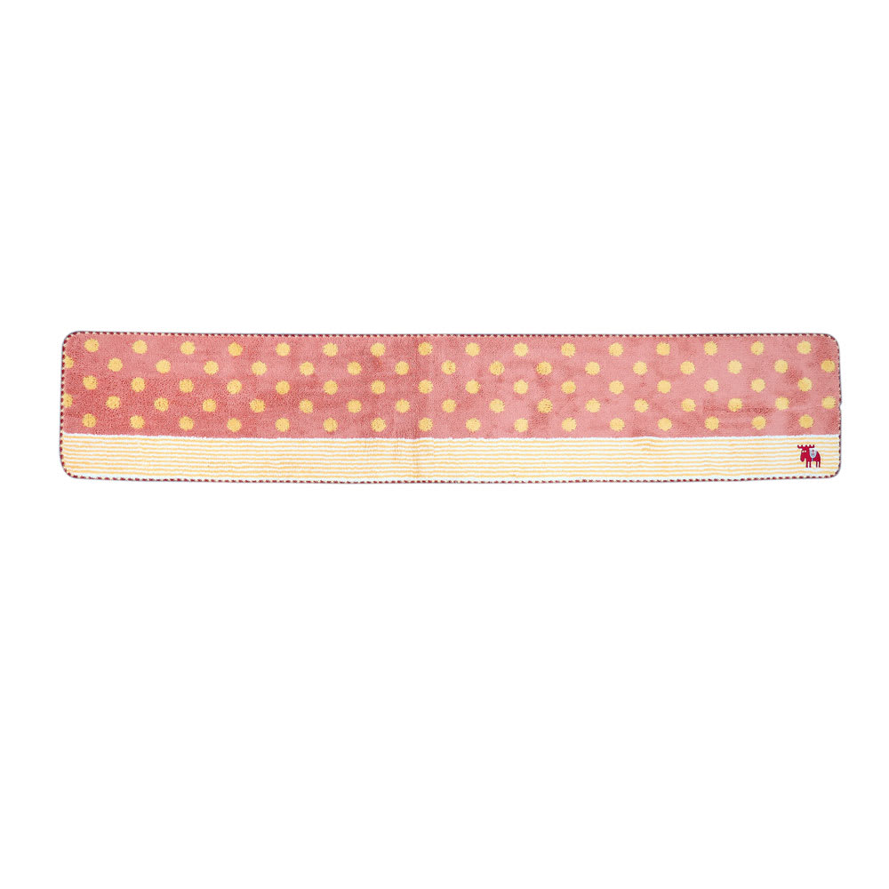 moz(モズ)/キッチンマット ドット Lサイズ幅240cm (ア)ピンク