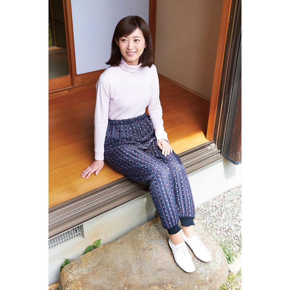 COGIT(コジット)/あったかキルトモンペ L〜LL L 【通販】