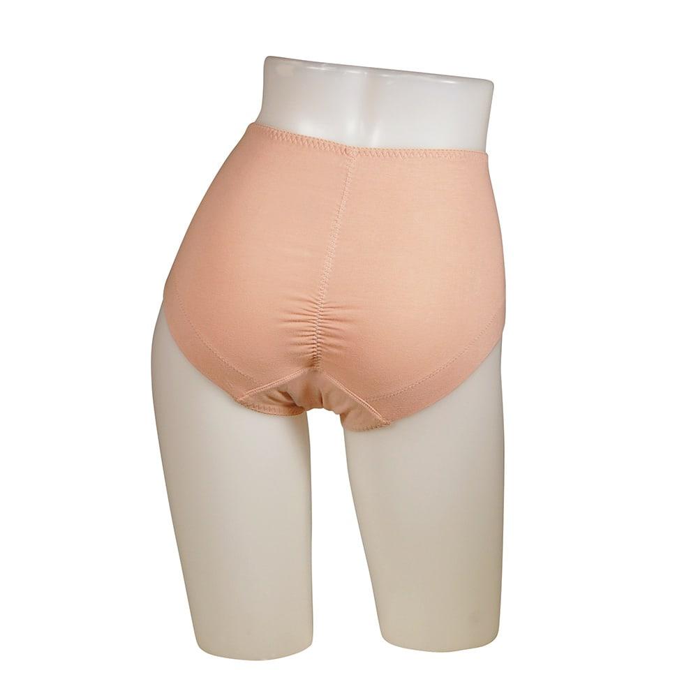 スマートスタイルコンフォータブル吸水ショーツ 4色組【女性用/軽失禁用下着】 ピンクブラウン