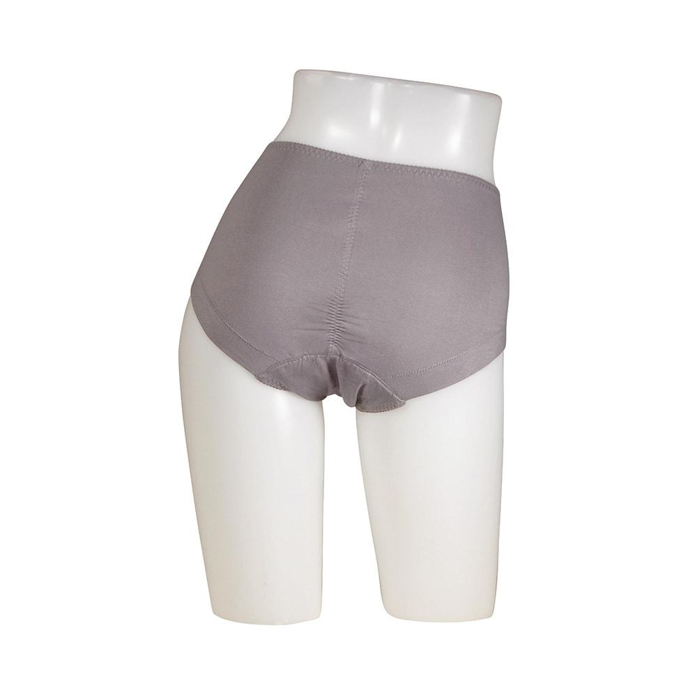 スマートスタイルコンフォータブル吸水ショーツ 4色組【女性用/軽失禁用下着】 グレー