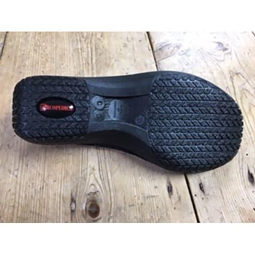 ARCOPEDICO/アルコペディコ バレエシューズ 靴底に配した2本ライン(ツインアーチサポート)が土踏まずにフィットし、しっかりサポート!かかとに集中しがちな衝撃を足裏全体に分散し、長時間歩いても疲れにくい。