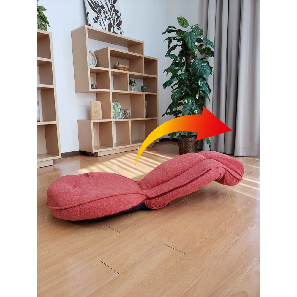 スリム座椅子 ピラトレ ぜひ試していただきたいのがこのストレッチ。普段の前かがみ姿勢を、お腹から首まで一気にラクに反らせます