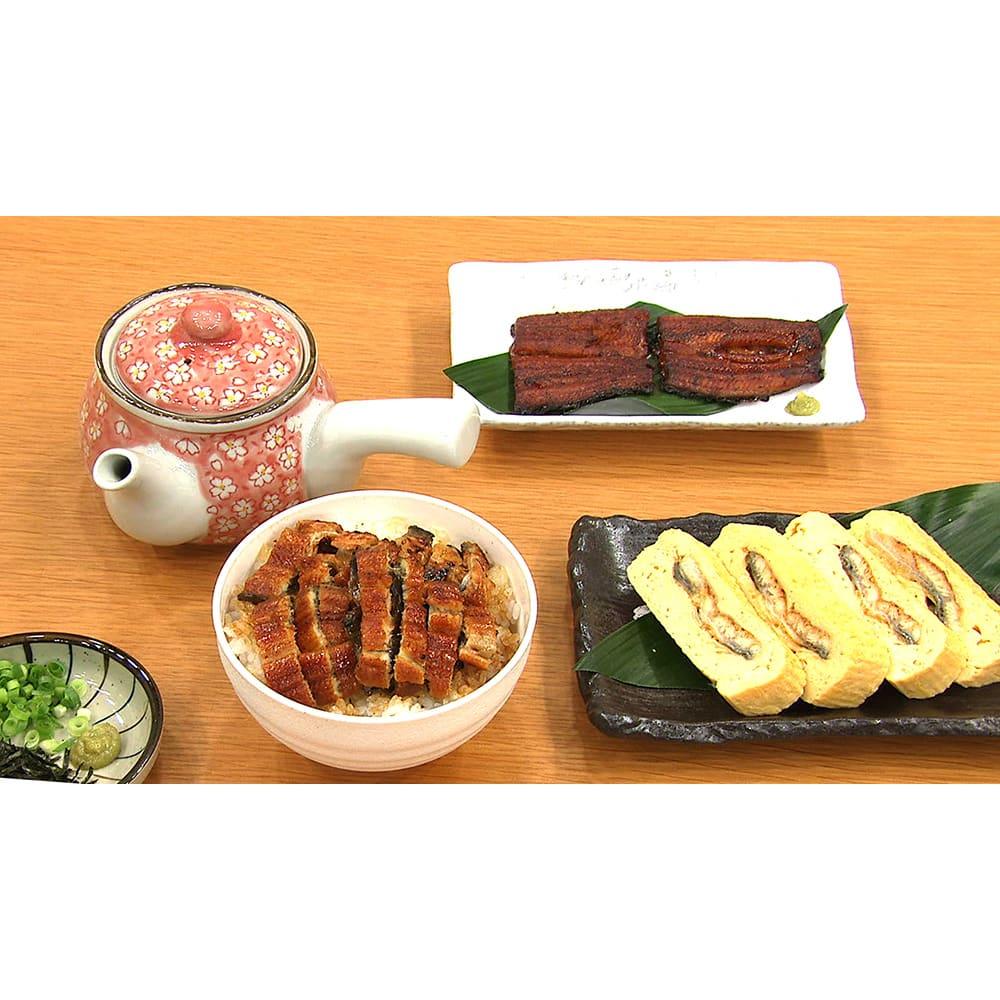 三河産うなぎ ワケあり6食セット 【アレンジ例】う巻きに。まぶし丼に。その後、お茶漬けに。小分けパックだから使いやすい。