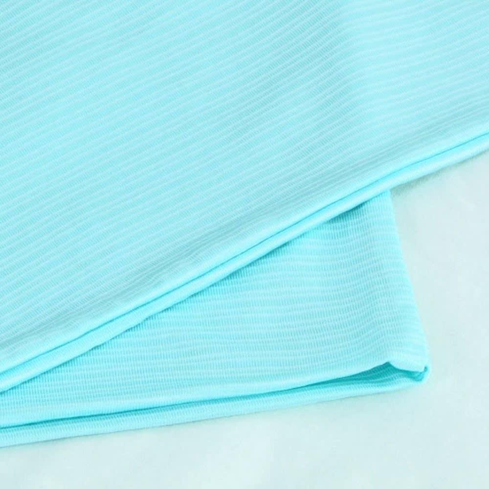 リラックスフィット枕 専用冷感カバー ファスナーなしのかぶせ式だから、付け外しが簡単!
