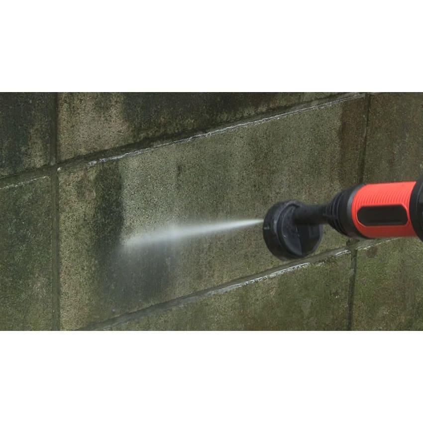 ビューティテック コードレス高圧洗浄機 【こんな場所で活躍!】外壁の油汚れに。ベランダの土汚れ、黒い汚れなどの洗浄に。
