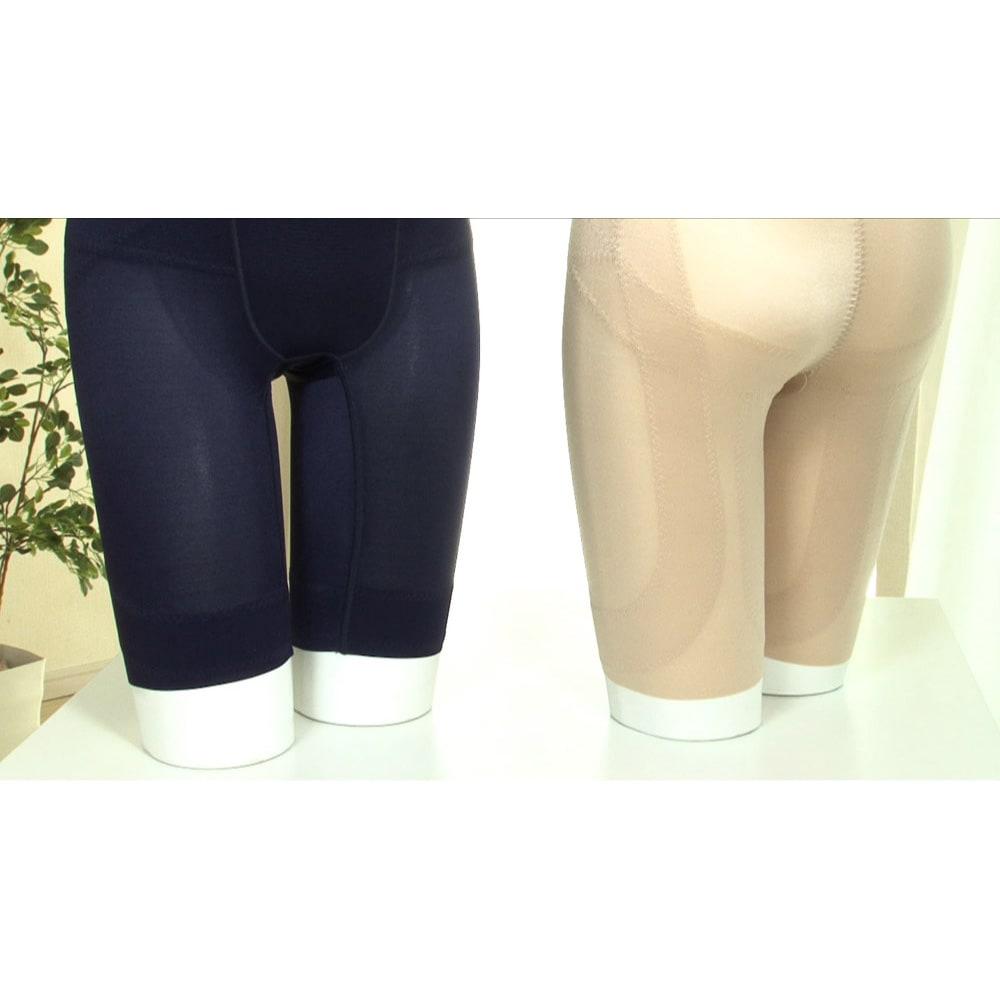 TBCエステサイズショーツ 5分丈 ○裾は縫い目がなくほつれにくい。細身のパンツでも響きにくい。(シームレス加工)