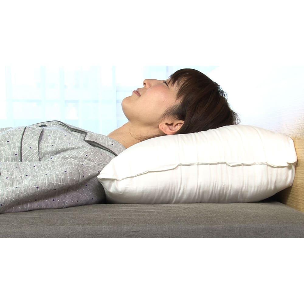 リラックスフィット枕 従来の高めの枕