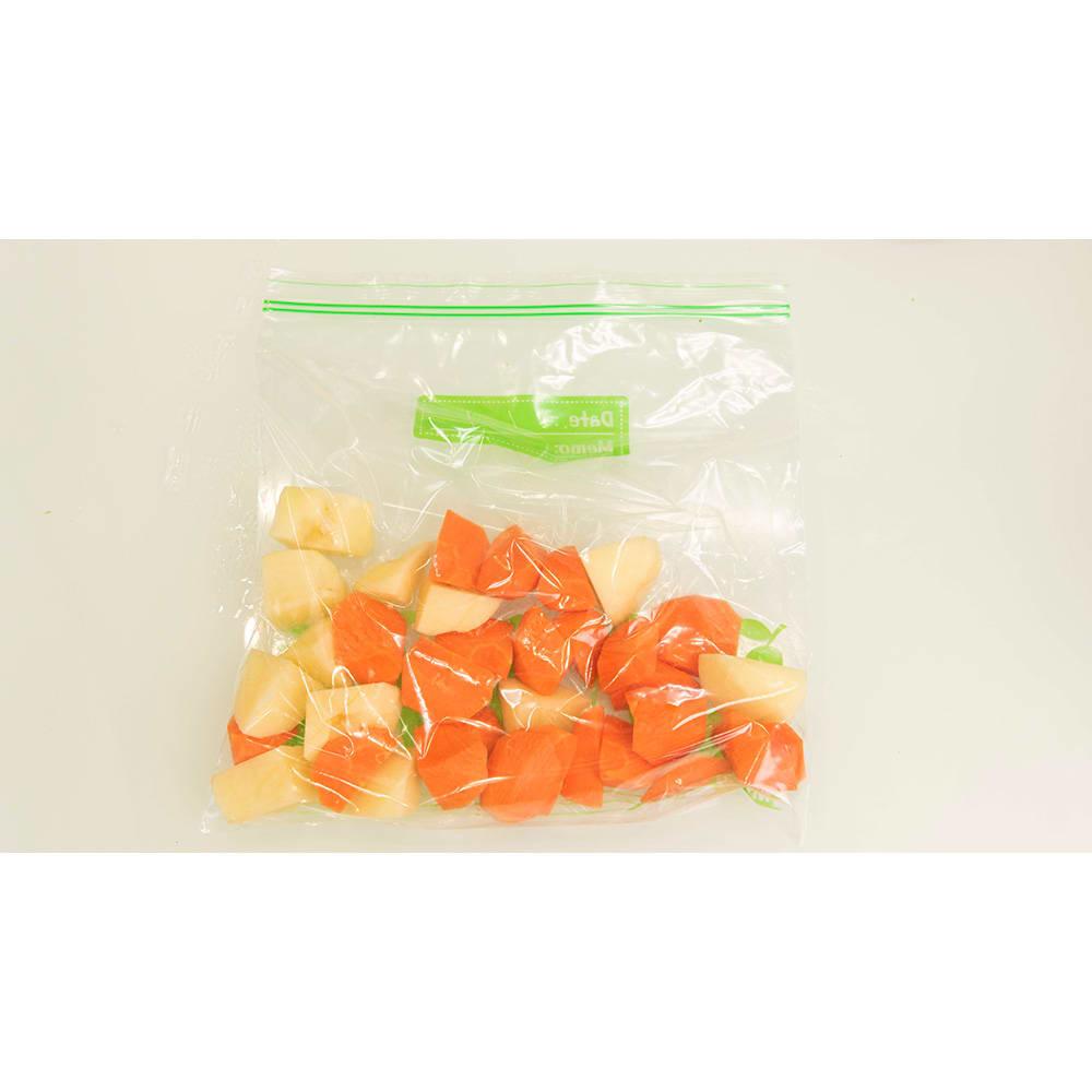 低温DEクッカー お手持ちの耐熱性のある袋に食材と調味料を入れて