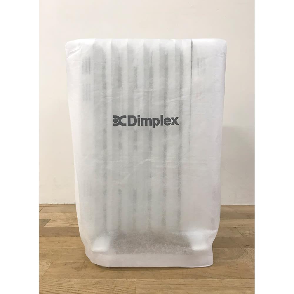 Dimplex/ディンプレックス オイルフリーヒーター B04(タッチパネル式) 収納時に便利なカバー付き。