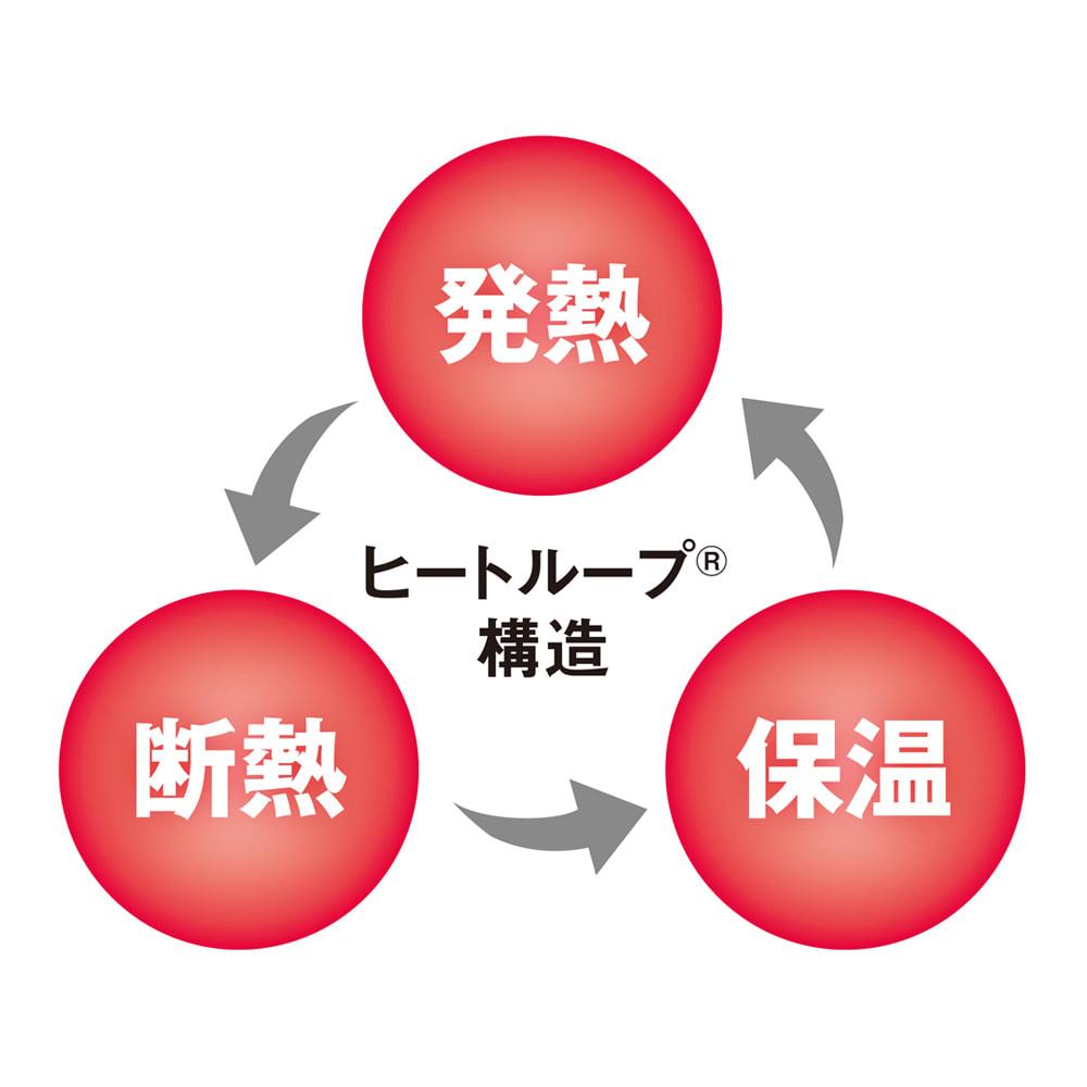 ヒートループDX 「お得な掛け敷きセット」(セミダブル) 発熱→断熱→保温 を繰り返す「ヒートループ構造」で、圧倒的な暖かさを実現!