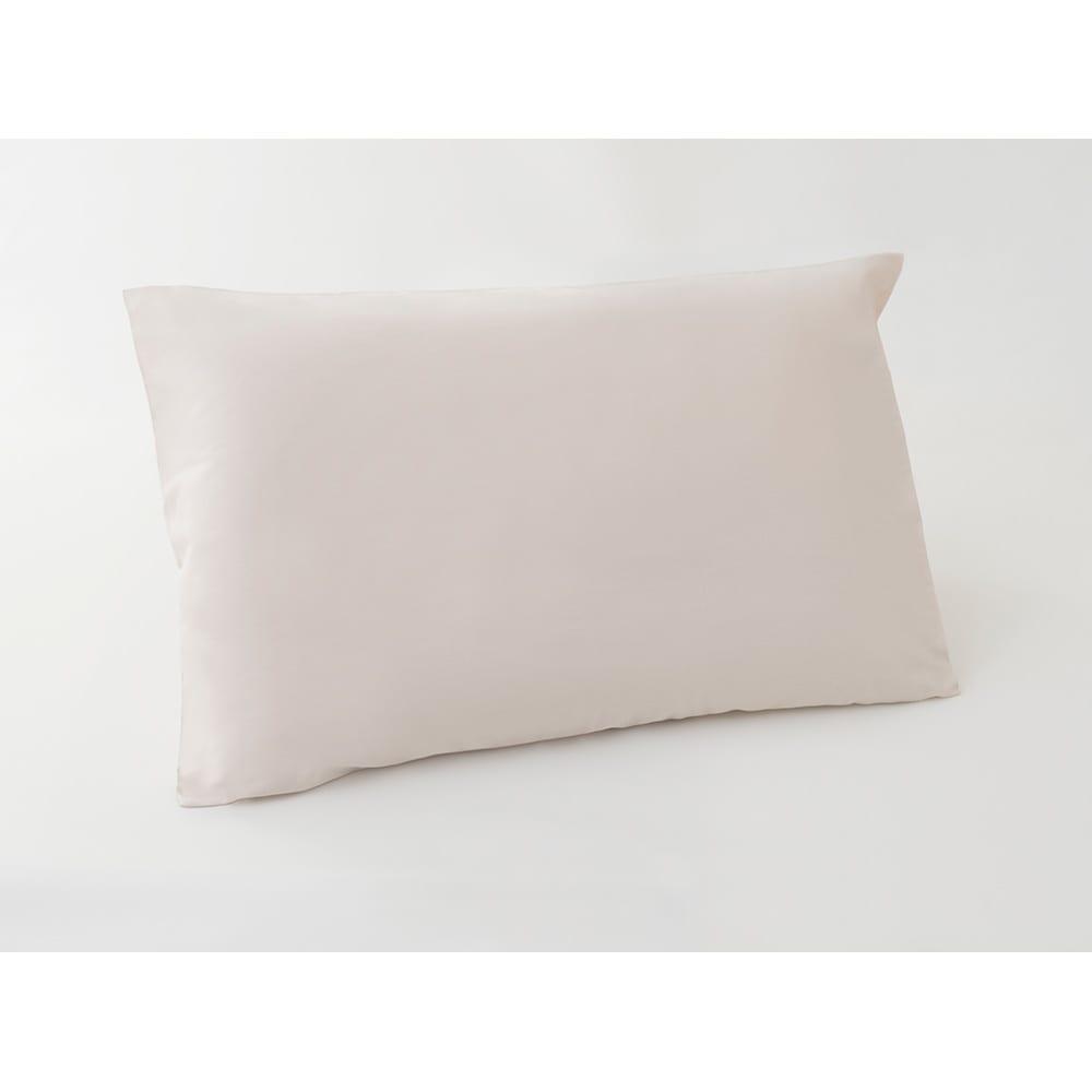 抗ウイルス加工枕カバー(リラックスフィット枕対応) (ア)ベージュ  ※枕本体は付属しません