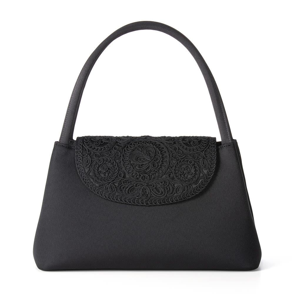 岩佐 コード刺しゅうフォーマルソフトバッグ フォーマル素材として有名な米沢ジャカード織を採用。格調高く、繊細な表情が品格を高めます。