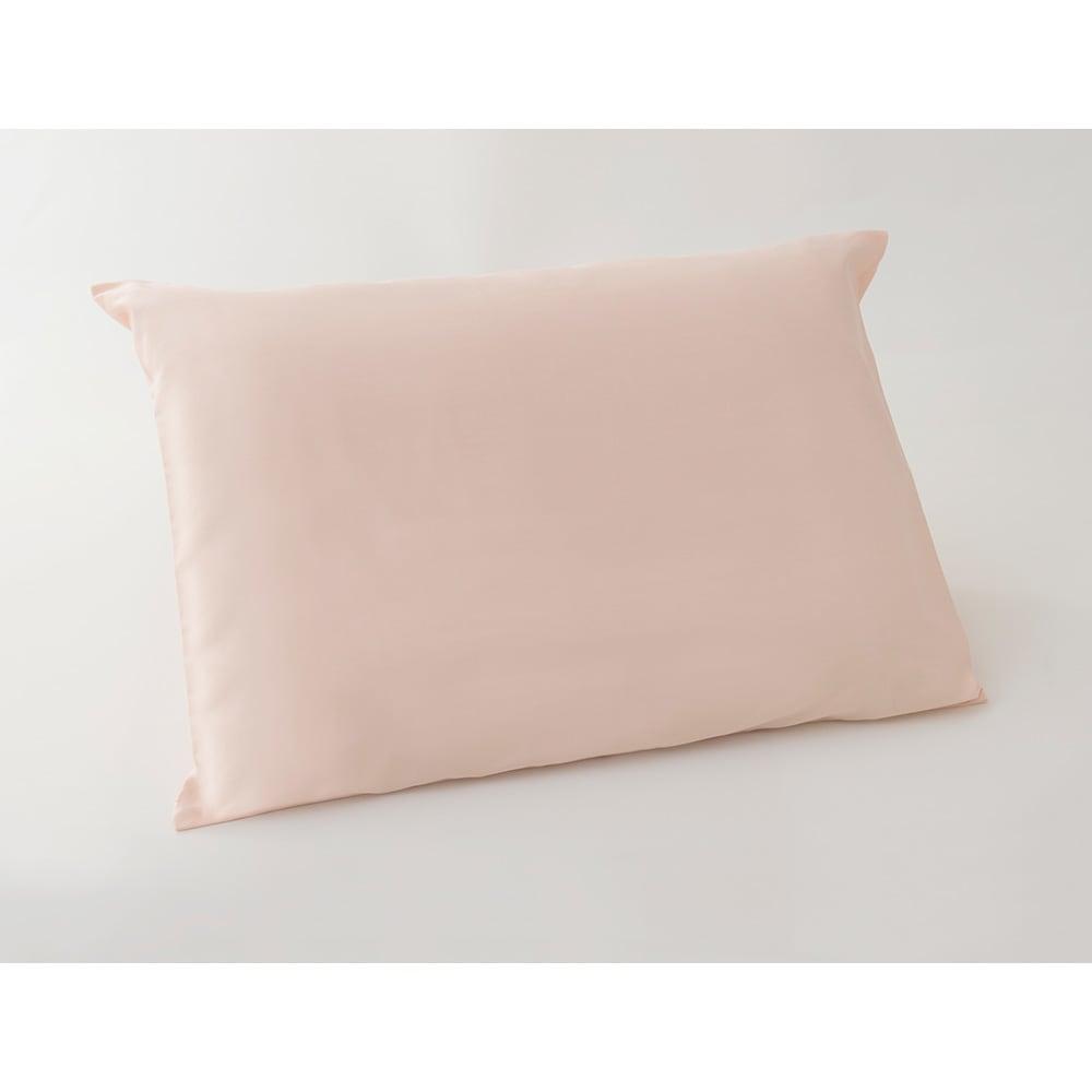 抗ウイルス加工枕カバー(リラックスフィット枕対応) (イ)サーモンピンク ※枕本体は付属しません