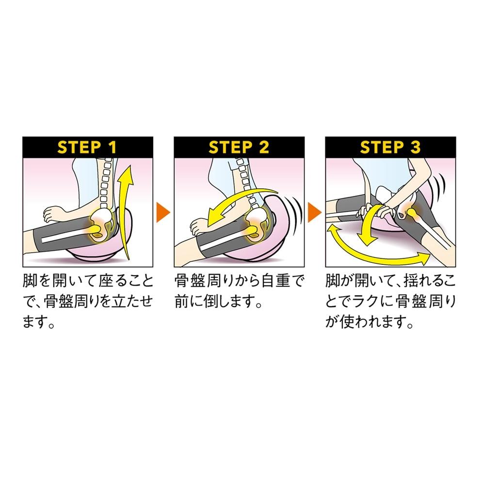 柔ら美人 開脚ベターイージースリム 天咲流「股関節ストレッチに大切な3ステップ」