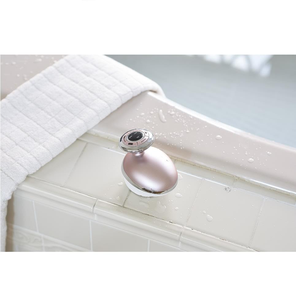 家庭用キャビテーションマシン「キャビスパRFコア」 お風呂で使えば更に効率的に引き締めが目指せます!
