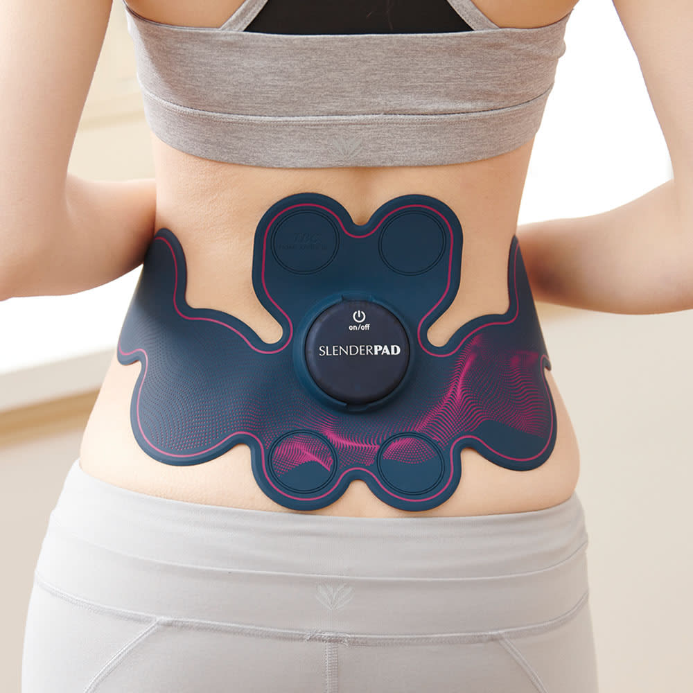 TBC スレンダーパッド2 DX(ボディ・ヒップ・腰用) original 腰用モード 体幹を鍛えるために腰・骨盤周りにアプローチ ランダムなEMS刺激で腰部の筋肉を心地よく刺激。